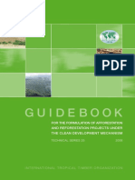 [en]Guidebook for the Formulation of Afforestation and Reforestation Projects Under the Clean Development Mechanism(PDF)