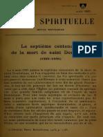 Saint Dominique, Fr. L. Petitot OP