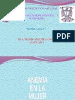 Anemia en La Mujer Embarazada