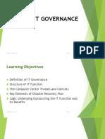 Lesson 2_IT Governance Control