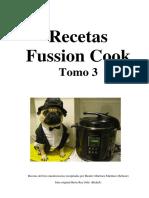 Recetas FussionCook Tomo 3