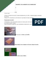 Técnicas de Gravura Em Metal Calcografia Calcogravura