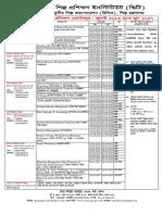 SCITI Schedule