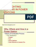 Fire Fighting Systems in Power Stations