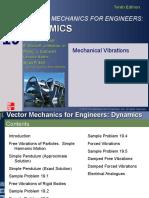 Dynamics 19 Lecture