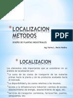 Localización Métodos
