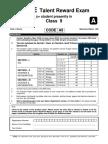 4ques Class 9 p2 FTRE 2013 Previous Year Question Paper