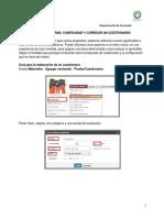 Guia Para Elaborar Configurar y Corregir Un Cuestionario.