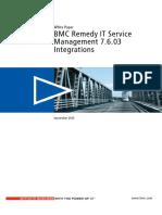 (White Paper) BMC Remedy IT Service Management 7.6.03 Integrations.pdf
