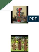 Esculturas Plana Chapa