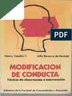 Casalta H & Penfold (1981) Modificación de Conducta