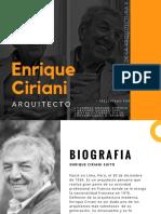 Arq. Enrique Ciriani