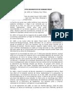 Aspectos Biograficos de Sigmund Freud