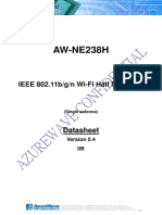 AzureWave AWNE238h WiFi Card