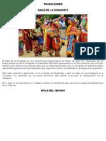 10 Costumbres y 10 Tradiciones Investigar