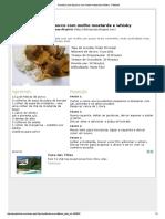 Receita Carne de porco com molho mostarda e whisky - Petitchef.pdf