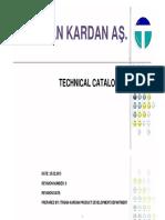 Tirsan Technical Catalogue 2015