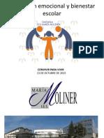 Mesa Redonda Educaci n Emocional y Clima Escolar Inmaculada de La Fuente Castilla Le n