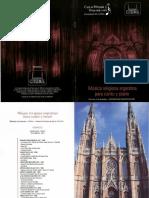 14 de Diciembre de 2016 -  Fundacion Catedral - junto a Jaquelina Livieri ( Soprano )
