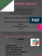 Inventory Policier Inglish