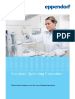 SOP - Standard Operating Procedure for Manual Dispensing Systems