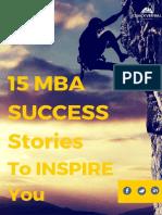 15 Success Stories eBook
