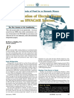 Application of Eletric Power to Hvac System