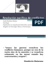 Resolución Pacifica de Conflictos