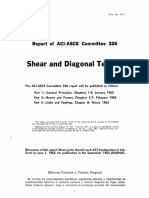 Report of ACI-ASCE Committee 326 Shear and Diagonal Tension Part 1 - General Principles, Chapters 1-4, January 1962