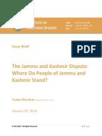 Kashmir Dispute