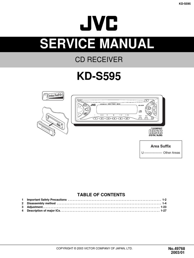 jvc kd r336 wiring diagram   26 wiring diagram images