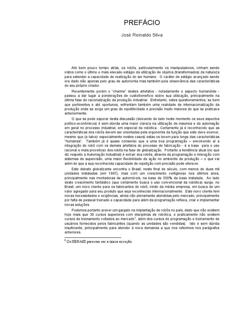 Livro robotica industrial pdf fandeluxe Gallery