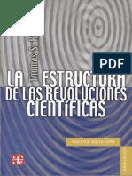 2.3 Thomas Kuhn La Estructura de Las Revoluciones Cientificas