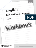 English Fal Grade 1 Workbook