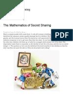 The Mathematics of Secret Sharing _ Math ∩ Programming.pdf