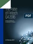 KPMG Pulse of Fintech q4 2016