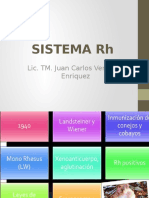 Clase 4 Inmunohematologia - Sistema Rh