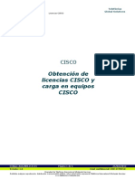 20140225 Generación de Licencias CISCO