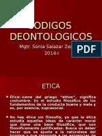 CODIGOS DEONTOLOGICOS