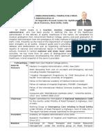 Brief Biodata=Dr Shakti Gupta   Latest 210812