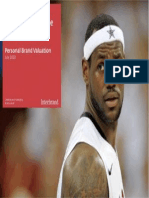 LeBron Brand Valuation (Interbrand)