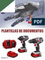 Manual plantillas predeterminadas en SOLIDWORKS