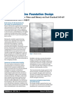 Article Transmission Line Foundation Design 1104