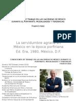 Condiciones de Trabajo en Las Haciendas de México