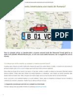 Ce Acte Sunt Necesare Pentru Inmatricularea Unei Masini Din Romania