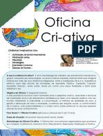 Cartaz Oficina Cri-Ativa Ponta Do Sol