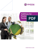 Brochure Additives for Pesticide Formulations EVONIK