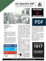 Boletim Operário 430