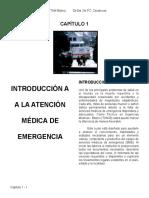 01 - Introducción a La Atención de Emergencia