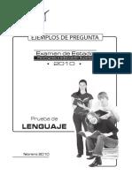 ICFES-Ejemplo de Preguntas Lenguaje